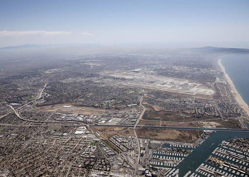 LA coast and LAX
