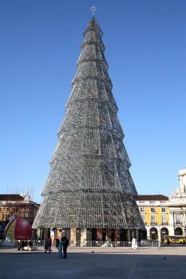 Steel Christmas tree