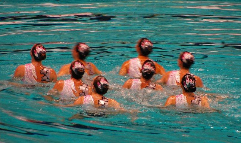 Australian Team in Water