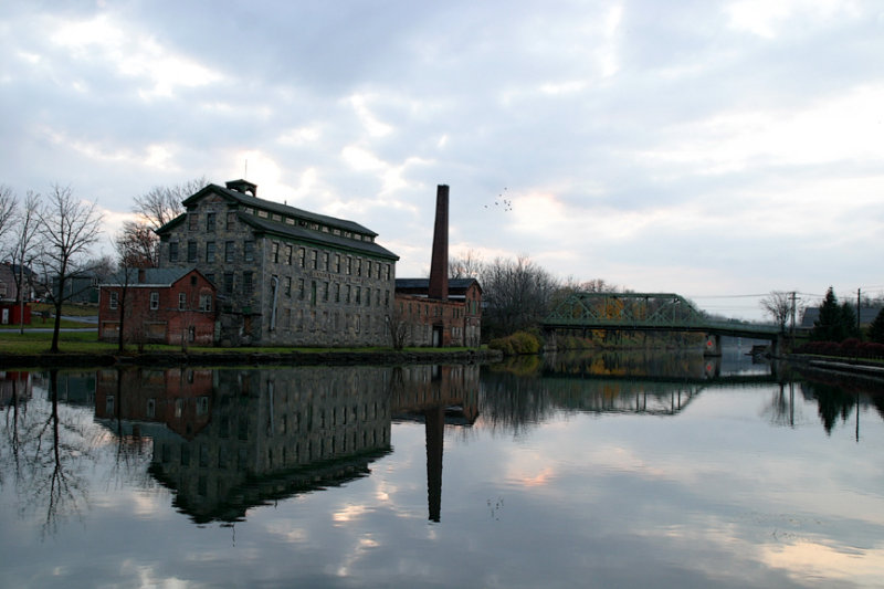 mill in the fall