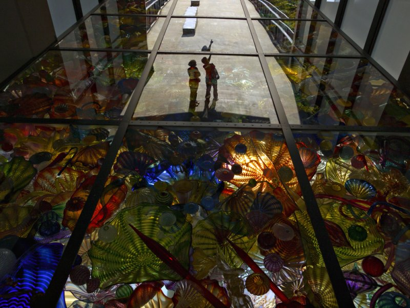 Chihuly Bridge of Glass, Tacoma, Washington, 2009
