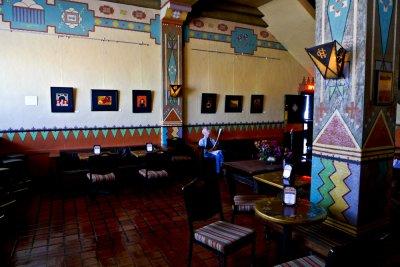 Lobby, Congress Hotel, Tucson, Arizona, 2009