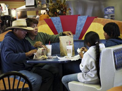 Navajo family, Kayenta, Arizona, 2009