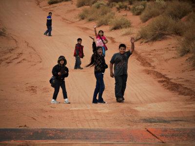 School's out, Kayenta, Arizona, 2009