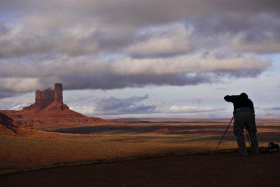 Overlook, Monument Valley, Arizona, 2009
