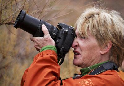Shooting under pressure, Moab, Utah, 2009