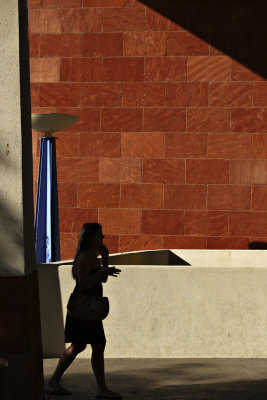 Phone call, Library, Scottsdale, Arizona, 2009