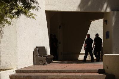 Firemen, City Hall, Scottsdale, Arizona, 2010