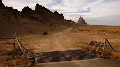 The road to Ship Rock, Ship Rock, New Mexico, 2007