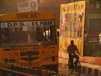 The bus, Delhi, India, 2008