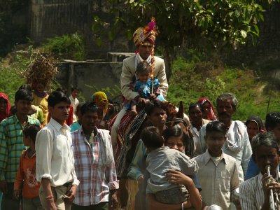 Wedding procession, Sawai Madhopur, India, 2008