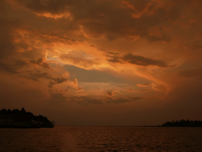 Crown of gold, Cochin Harbor, India, 2008