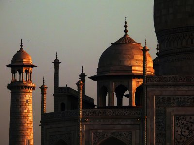 First light, Taj Mahal, Agra, India, 2008