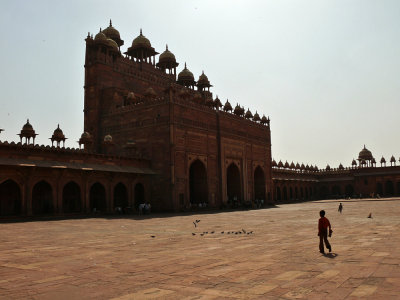 The Great Mosque of Fatehpur Sikri, India, 2008
