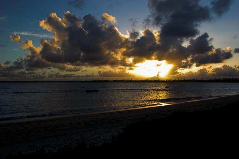 serrambi sunset