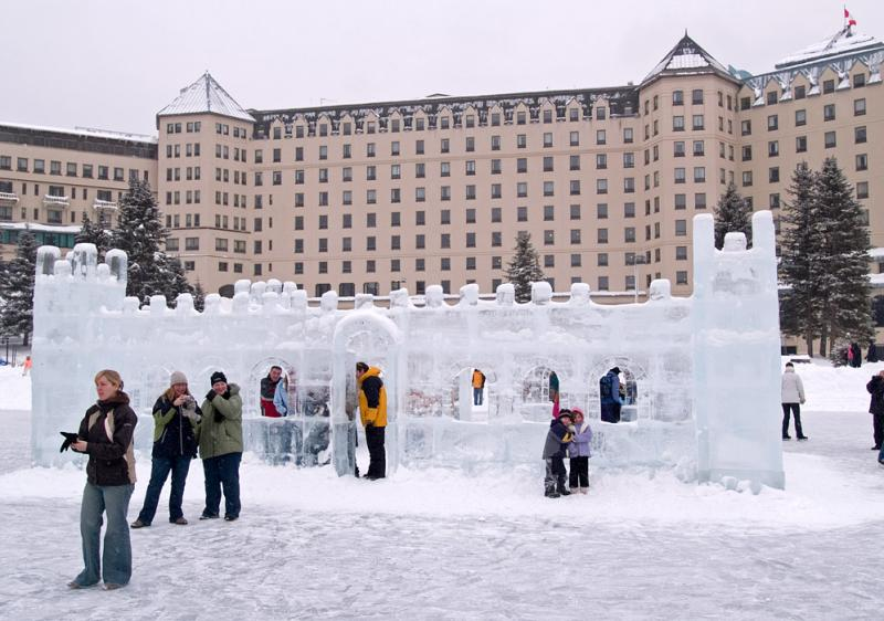 Ice Castle at the Chateau