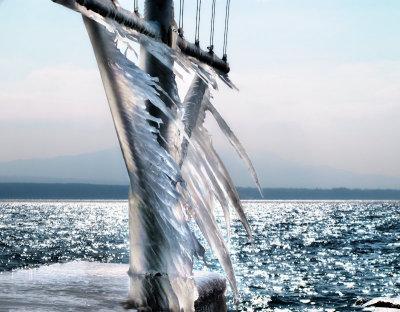 Waving ice flag...