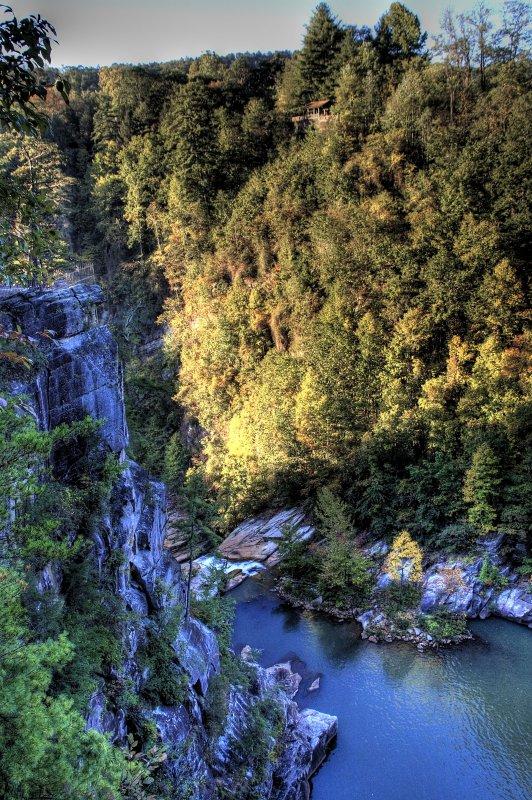 tallulah falls, georgia - october, 2007