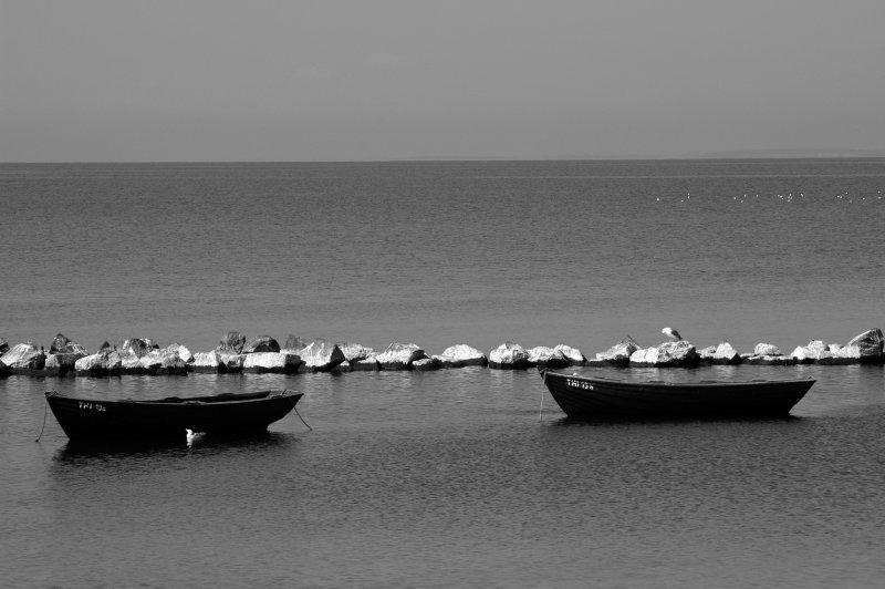 Fisherboats at Thiessow