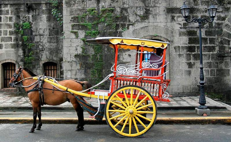 Calesa, Intramuros.