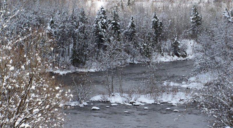 la rivière à leau noire