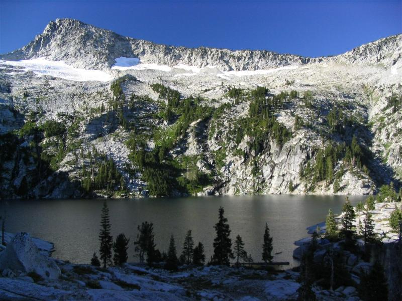Grizzly Lake and Thompson Peak