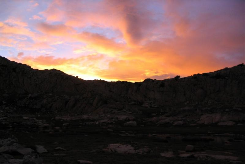 Sunset in the Sierra, Bear Basin