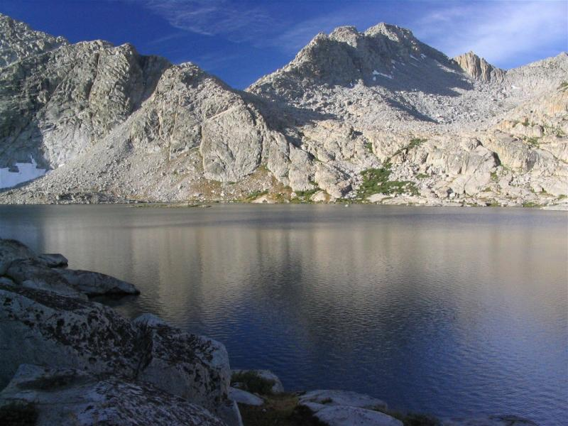 Three Island Lake and Senger Pass, the route I hiked from Senger creek