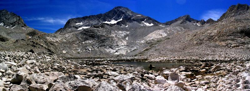Upper Mills Lake panorama