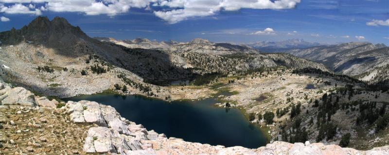 Silver Pass south panorama