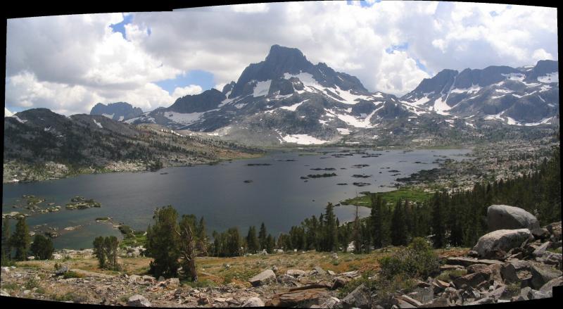 Thousand Island lake panorama