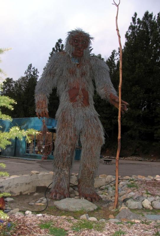 Bigfoot hiker