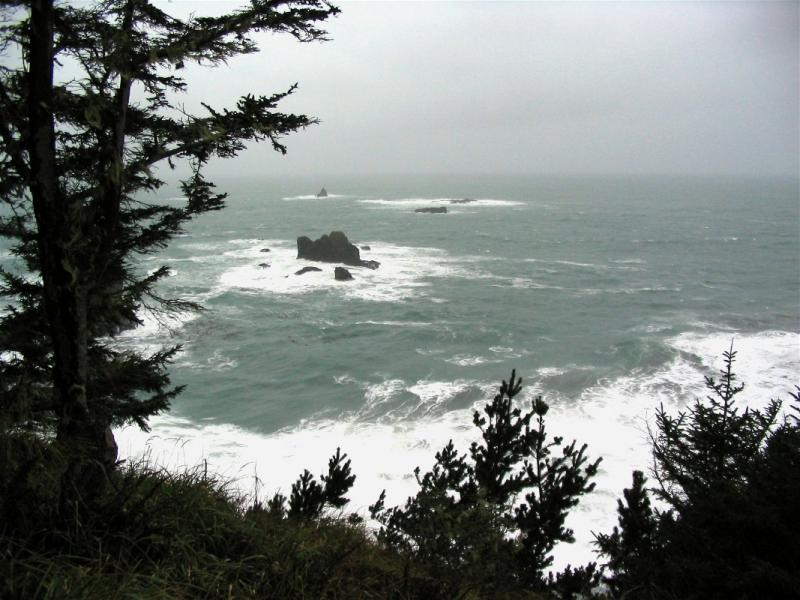 Oregon Coast line near Brookings