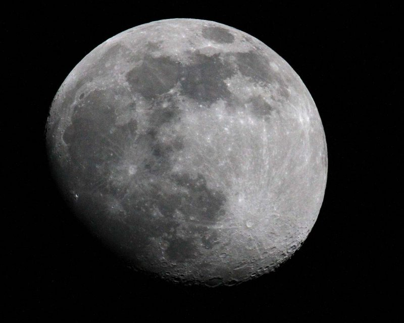 Better exposure of Moon at Occult