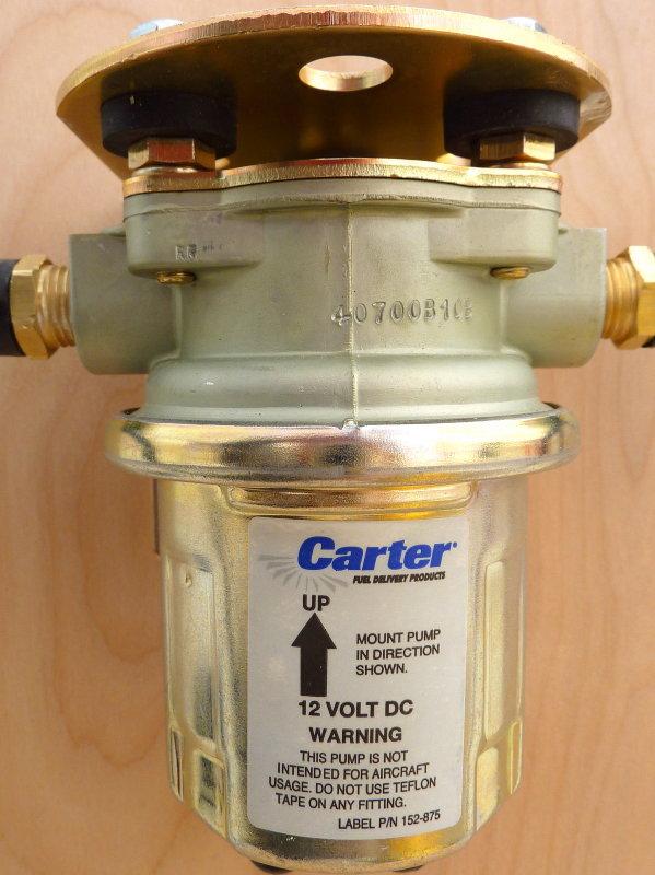Fuel Polishing Pump