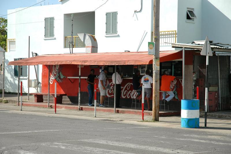 The Coke Stand - Barbados
