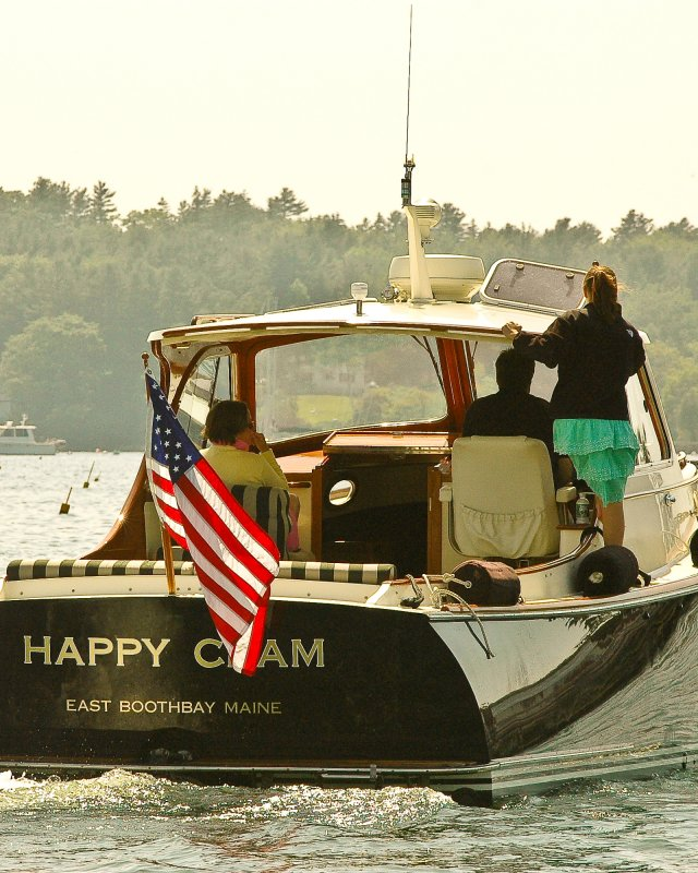 Happy Clam 1 - Boothbay