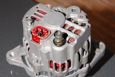 Ground Screw & Output Stud