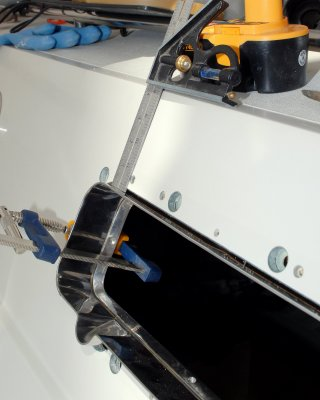 Dry Fitting & Leveling  The Ports 2