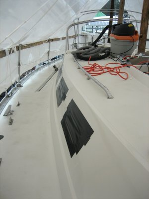 Temporary Duct Tape To Cover The Openings