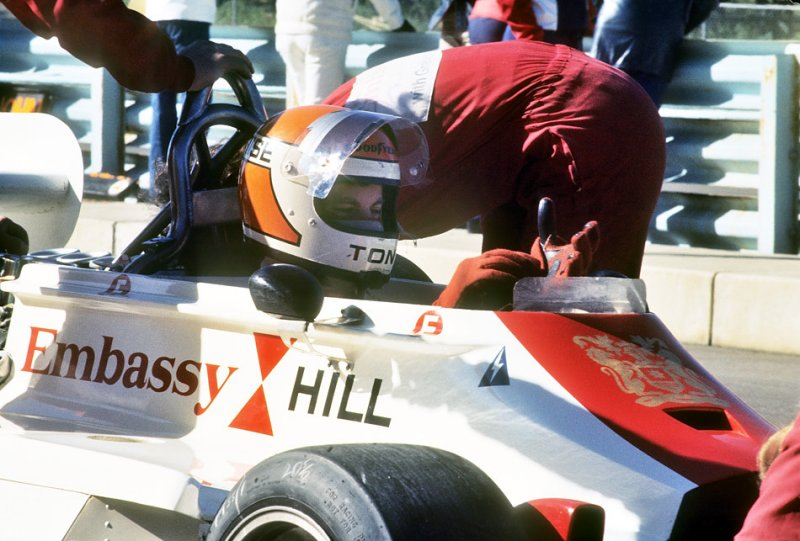Tony Brise: Embassy Hill (as in Graham Hill)