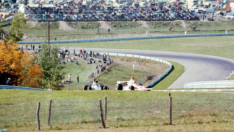 Tony Brise leading Wilson Fittipaldi