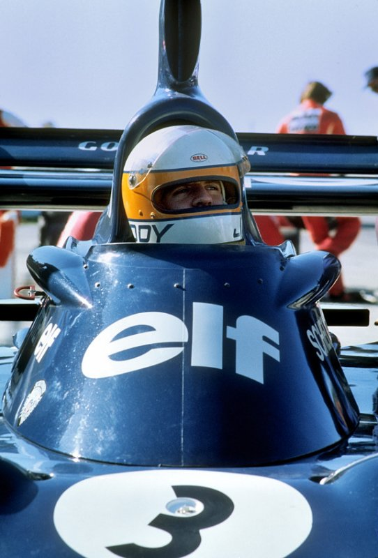 Jody Scheckter in the pits
