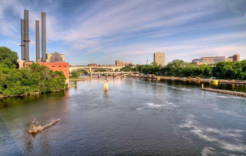 Mississippi River, St. Paul, MN