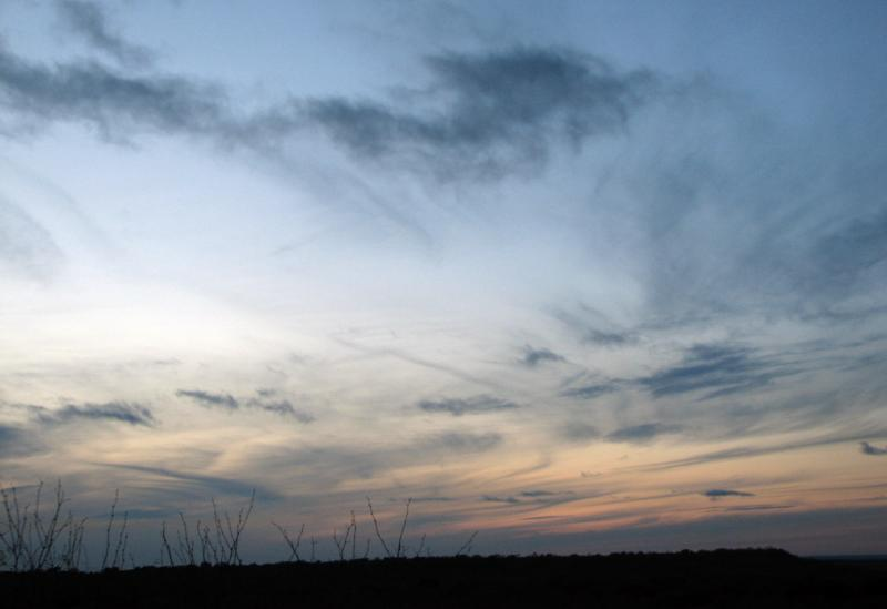 Evening Sky  - Dec. 2005