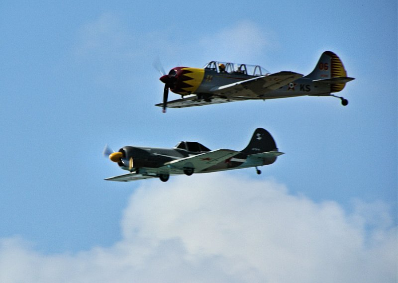 Russian YAK 50 and 52