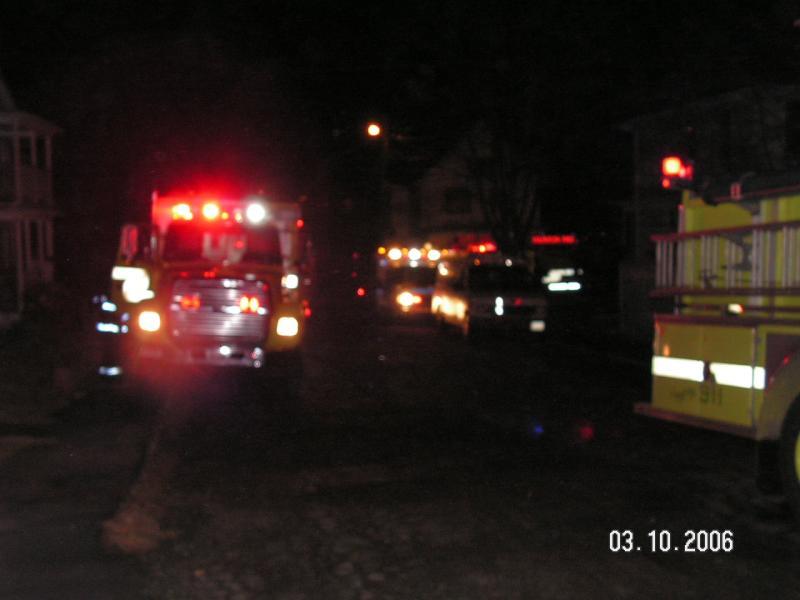 Taunton Fire, Winthrop PL.