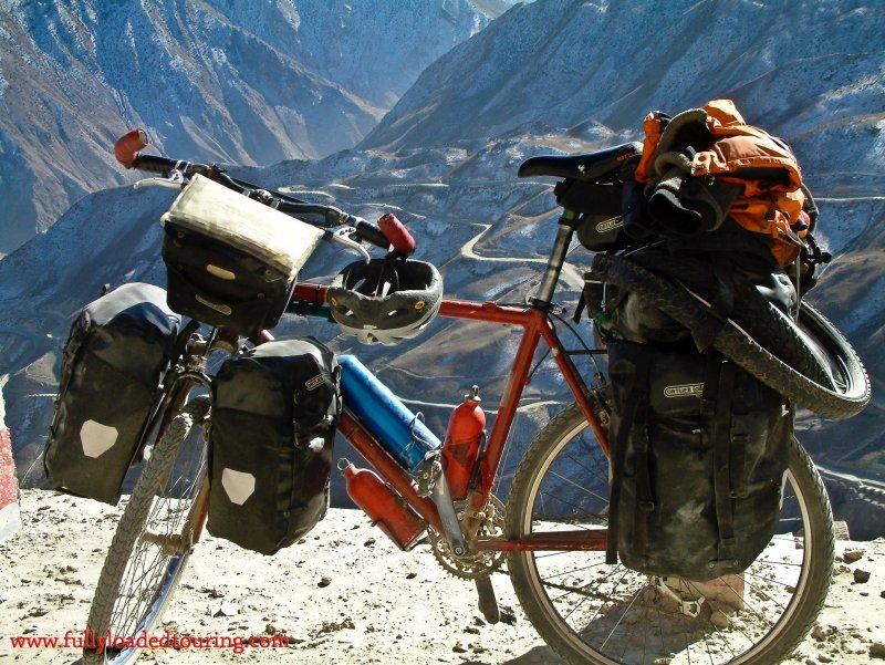 333    Kendon - Touring Tibet - Gary Fisher Hoo Koo e Koo touring bike