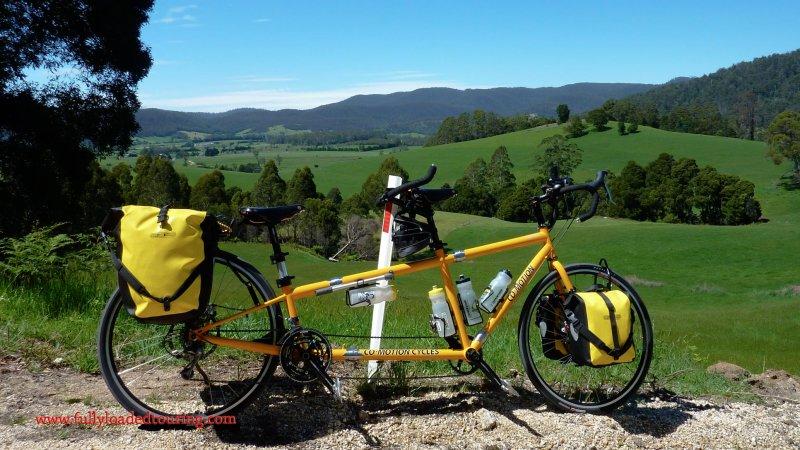 339    Tara & James - Touring Australia - Co-Motion Periscope Torpedo touring bike