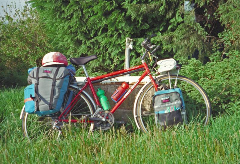 010  Brian - Touring England - Shogun Ground Breaker touring bike